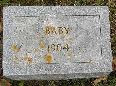 NADING, BABY - Clayton County, Iowa   BABY NADING