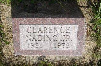 NADING, CLARENCE JR. - Clayton County, Iowa   CLARENCE JR. NADING