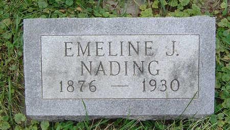 NADING, EMELINE J. - Clayton County, Iowa | EMELINE J. NADING