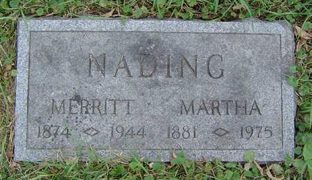 NADING, MERRITT - Clayton County, Iowa   MERRITT NADING