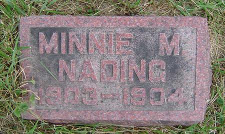 NADING, MINNIE M. - Clayton County, Iowa   MINNIE M. NADING