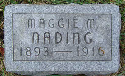 NADING, MAGGIE M. - Clayton County, Iowa | MAGGIE M. NADING