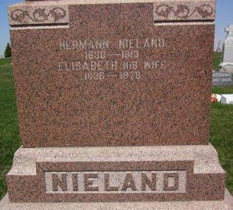 NIELAND, ELISABETH - Clayton County, Iowa | ELISABETH NIELAND
