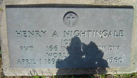 NIGHTINGALE, HENRY A. - Clayton County, Iowa | HENRY A. NIGHTINGALE