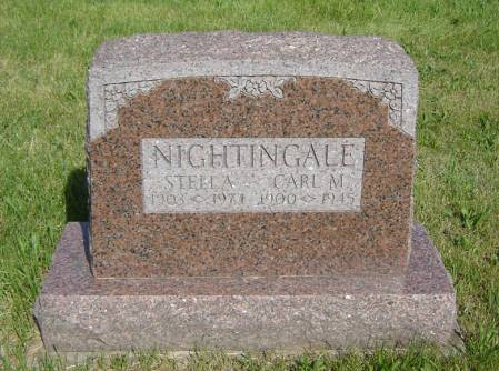 NIGHTINGALE, CARL M. - Clayton County, Iowa | CARL M. NIGHTINGALE