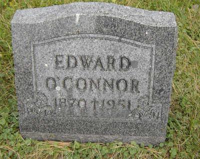 O'CONNOR, EDWARD - Clayton County, Iowa   EDWARD O'CONNOR