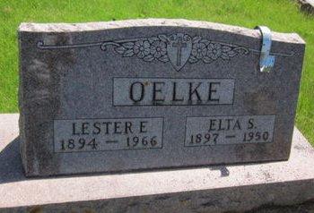 OELKE, ELTA S. - Clayton County, Iowa | ELTA S. OELKE