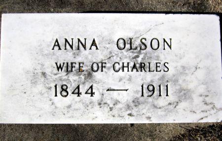 OLSON, ANNA - Clayton County, Iowa | ANNA OLSON