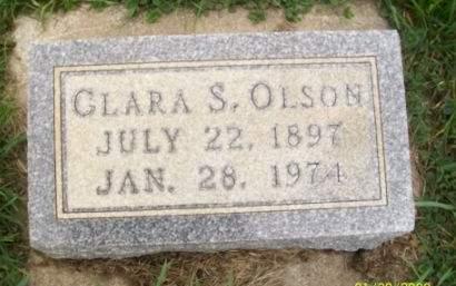 OLSON, CLARA - Clayton County, Iowa | CLARA OLSON