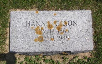 OLSON, HANS - Clayton County, Iowa | HANS OLSON