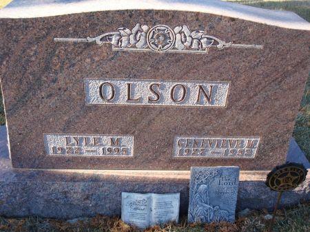 OLSON, GENEVIEVE M. - Clayton County, Iowa | GENEVIEVE M. OLSON