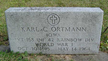 ORTMANN, KARL C. - Clayton County, Iowa | KARL C. ORTMANN