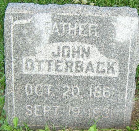 OTTERBACK, JOHN H. 'JOHANN' - Clayton County, Iowa | JOHN H. 'JOHANN' OTTERBACK