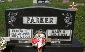 PARKER, MARY K. - Clayton County, Iowa | MARY K. PARKER