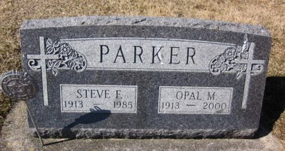 PARKER, OPAL M. - Clayton County, Iowa | OPAL M. PARKER