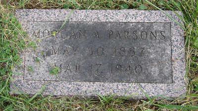 PARSONS, MORGAN A. - Clayton County, Iowa | MORGAN A. PARSONS