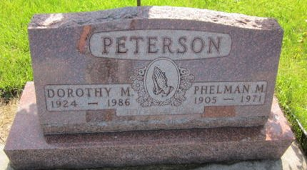 PETERSON, PHELMAN M. - Clayton County, Iowa | PHELMAN M. PETERSON