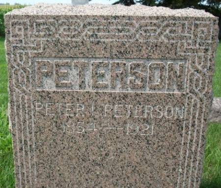 PETERSON, PETER I - Clayton County, Iowa | PETER I PETERSON
