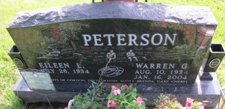 PETERSON, WARREN G. - Clayton County, Iowa | WARREN G. PETERSON