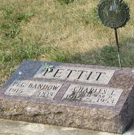 PETTIT, CHARLES LYMAN - Clayton County, Iowa   CHARLES LYMAN PETTIT