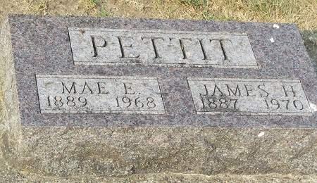 VANDERGRIFT PETTIT, MAE ETTA - Clayton County, Iowa | MAE ETTA VANDERGRIFT PETTIT