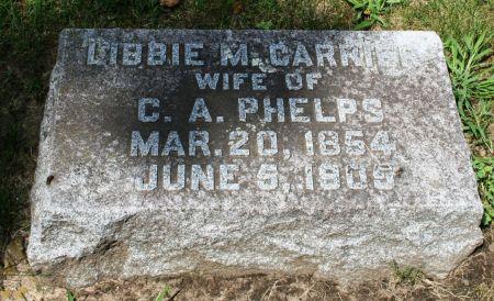 PHELPS, LIBBIE M. - Clayton County, Iowa | LIBBIE M. PHELPS