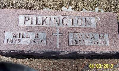 PILKINGTON, EMMA M. - Clayton County, Iowa | EMMA M. PILKINGTON