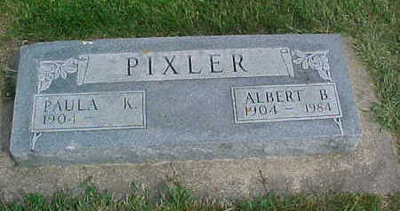 PIXLER, ALBERT  B. - Clayton County, Iowa | ALBERT  B. PIXLER