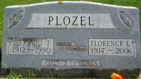 PLOZEL, LEONARD F. - Clayton County, Iowa   LEONARD F. PLOZEL