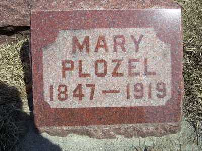 POZAR PLOZEL, MARY - Clayton County, Iowa | MARY POZAR PLOZEL