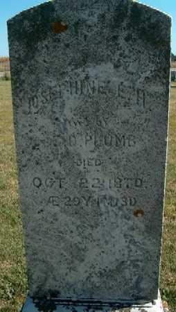 PLUMB, JOSEPHINE E.H. - Clayton County, Iowa | JOSEPHINE E.H. PLUMB
