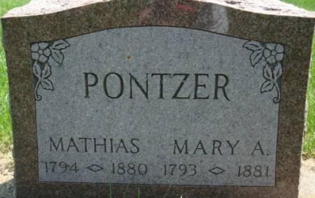 PONTZER, MATHIAS - Clayton County, Iowa | MATHIAS PONTZER