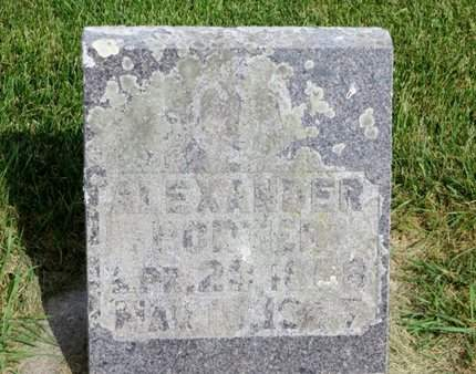 PORTER, ALEXANDER - Clayton County, Iowa   ALEXANDER PORTER