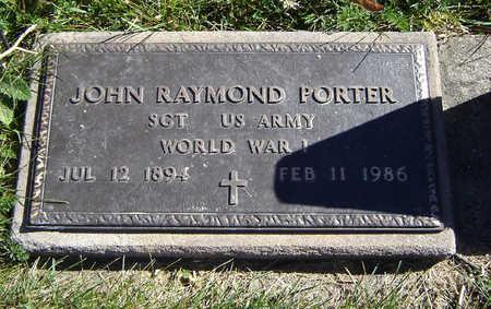 PORTER, JOHN RAYMOND - Clayton County, Iowa | JOHN RAYMOND PORTER