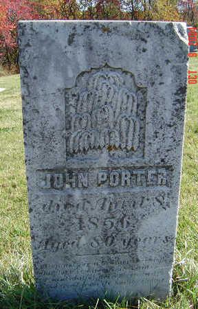 PORTER, JOHN - Clayton County, Iowa   JOHN PORTER