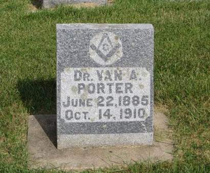 PORTER, VAN A. - Clayton County, Iowa | VAN A. PORTER