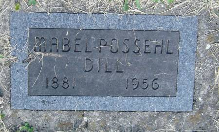 CARPENTER POSSEHL, MABEL - Clayton County, Iowa   MABEL CARPENTER POSSEHL