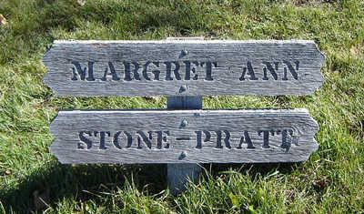 STONE PRATT, MARGRET ANN - Clayton County, Iowa   MARGRET ANN STONE PRATT