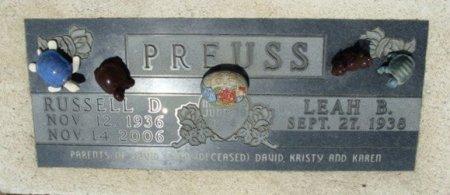 PREUSS, RUSSELL D. - Clayton County, Iowa | RUSSELL D. PREUSS