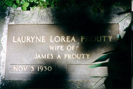 PROUTY, LAURYNE LOREA - Clayton County, Iowa | LAURYNE LOREA PROUTY