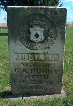 PURDY, JULIA L - Clayton County, Iowa | JULIA L PURDY
