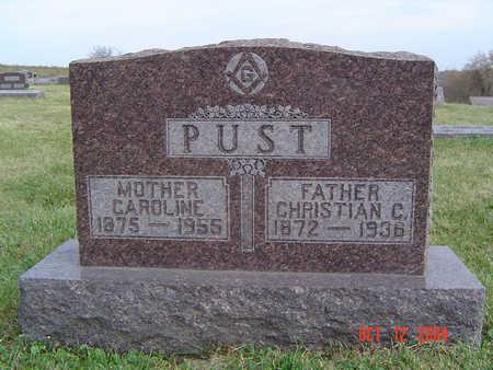 PUST, CHRISTIAN C. - Clayton County, Iowa | CHRISTIAN C. PUST