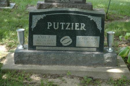 PUTZIER, KARL FREDERICK - Clayton County, Iowa | KARL FREDERICK PUTZIER