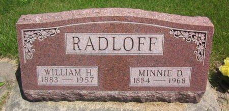 RADLOFF, WILLIAM H. - Clayton County, Iowa | WILLIAM H. RADLOFF