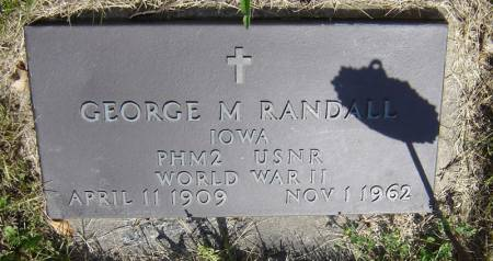 RANDALL, GEORGE M. - Clayton County, Iowa | GEORGE M. RANDALL