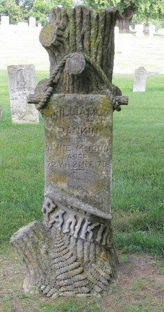 RANKIN, WILLIAM F. - Clayton County, Iowa   WILLIAM F. RANKIN