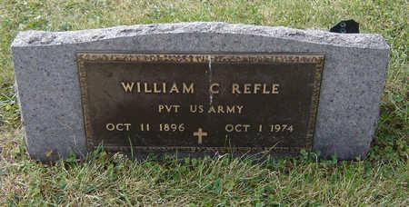 REFLE, WILLIAM C. - Clayton County, Iowa | WILLIAM C. REFLE