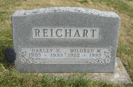 REICHART, MILDRED M. - Clayton County, Iowa | MILDRED M. REICHART