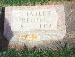 REIDEL, CHARLES - Clayton County, Iowa   CHARLES REIDEL