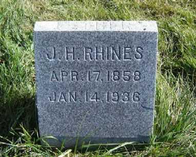 RHINES, JOSEPH H. - Clayton County, Iowa | JOSEPH H. RHINES